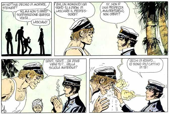 Corto Maltese gentiluomo di fortuna. #cortomaltese #fumetti