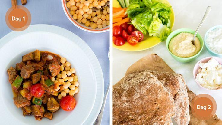 Spicy lam og pitabrød, opskrift, aftensmad, nemlig.com