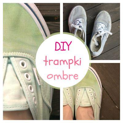 Urodelle: Diy ombre / diy trampki/ diy shoes