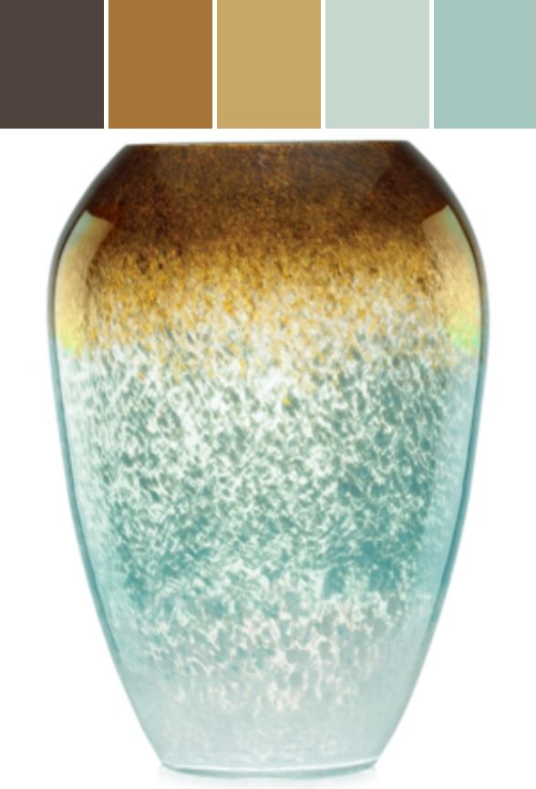 Lenox Gifts, Seaview Ombre Urn Vase  Designed By macys via Stylyze