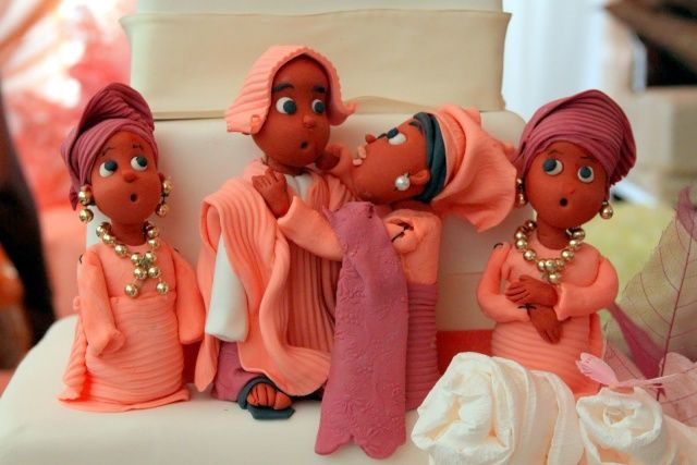 Nigerian Traditional Wedding Cakes! - Food (1) - Nairaland