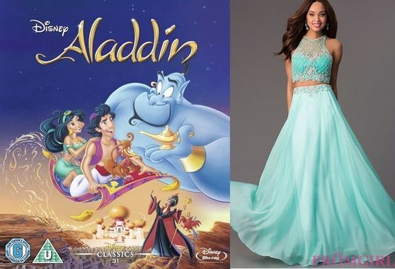 Princess Jasmine-inspired dress for prom!