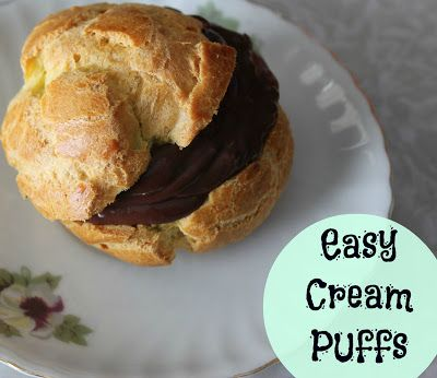 Just like Grandma used to make: Easy cream puff recipe with filling!