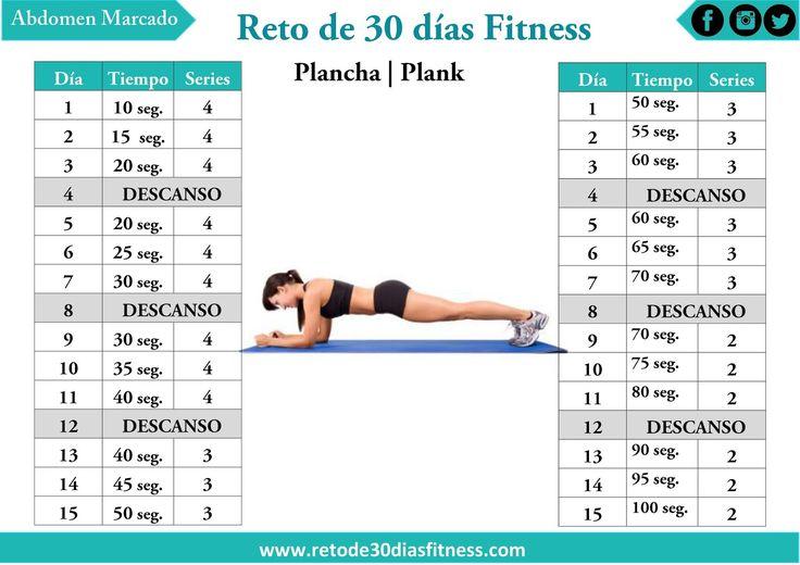 Anuncio       La plancha es el ejercicio por excelencia para trabajar tus abdominales, es un ejercicio isométrico es decir es un ejercic...