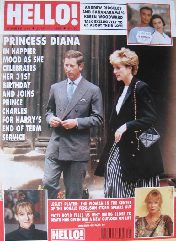 July 2 1992 Charles took Harry to school. He then went on to his son's end of school year church service at nearby St. Matthews in Notting Hill. Diana joined him soon afterwards for the service.