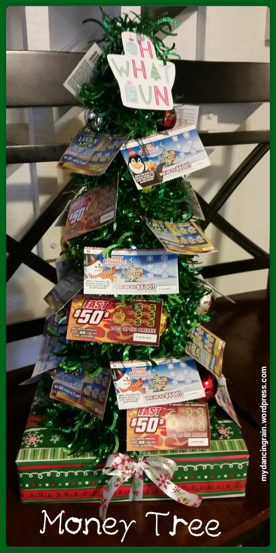 Money Tree Gift Idea For Adults Diy Christmas Gifts