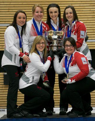 rocque wins- gold - world's junior womens curling