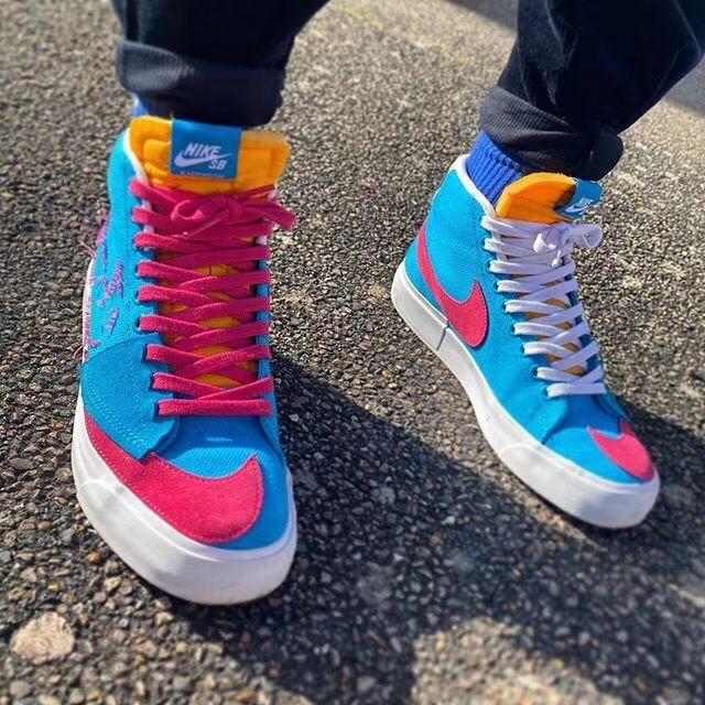 December Holidays Nike Blazer Sneakers Fashion Sneakers