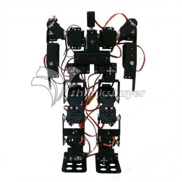 61.36$  Buy now - http://alinn1.worldwells.pw/go.php?t=32661196136 - 17DOF Biped Robotic Educational Robot Humanoid Robot Kit Servo Bracket Ball Bearing Black