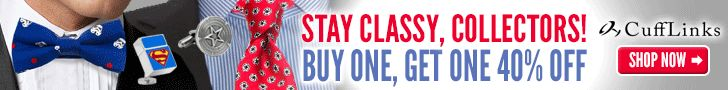 Stay Classy, Collectors!  Buy One, Get One 40% Off!