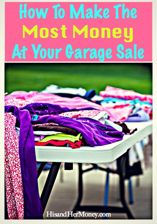Have you ever wanted to have a garage sale, but it seems like way too much work? Or does it feel super overwhelming, because you feel like you don't even know where to start? We have had many of successful garage sales over the years. Garage sales are a great option when you're looking to make some extra cash and clear out clutter from your home. Let us share with you our favorite tips to help you make the most money at your next garage sale!