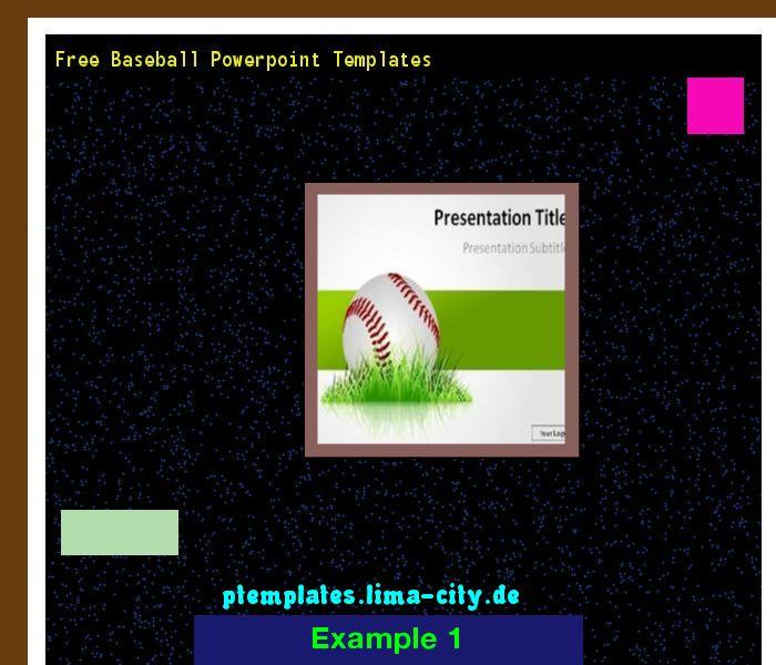 Free Baseball Powerpoint Templates Powerpoint Templates 134819