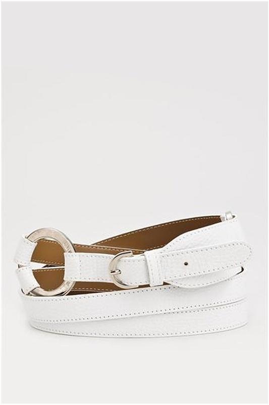 Burberry Genuine Leather Double-Belt - Enviius