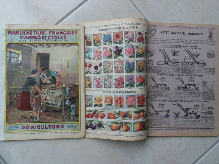 Catalogue 66 p. MANUFRANCE 1932 AGRICULTURE Poussin - écurie cheval outil vin l…