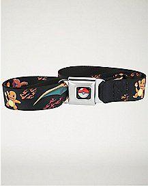 Pokemon Charmander Evolution Seatbelt Belt