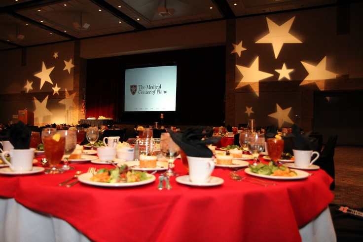 Medical Center of Plano banquet in Collinwood Hall. Photo by Joyce's Photography.