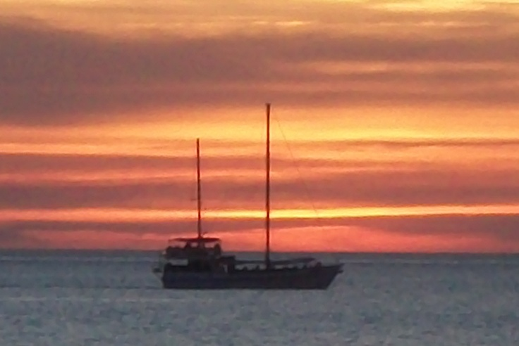 Sunset at Mindi Beach - Darwin 2010