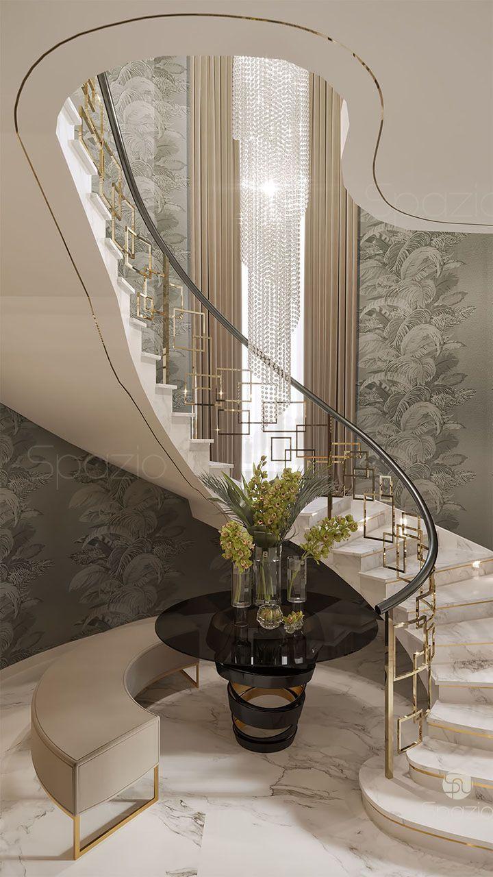 Stair Villa Design Dubai Uae
