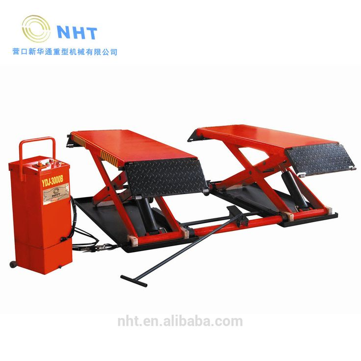 Hot Sale Car Equipment Scissor Bendpak Lift for 3 tons Movable