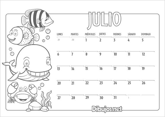 calendario-infantil-2015-colorear-julio