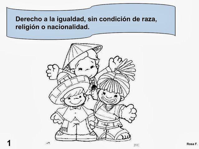 Maestra De Primaria Los Derechos Del Nino Carteles Para Colorear 20 De Noviembre Derechos De Los Ninos Imagenes De Los Derechos Ninos