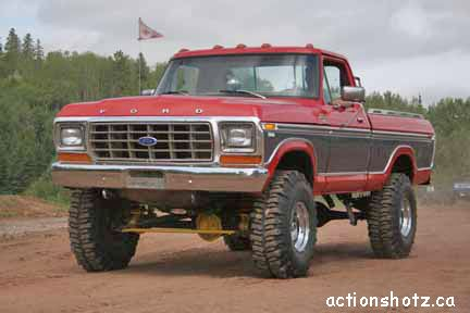 """Big Lifted Ford Trucks 