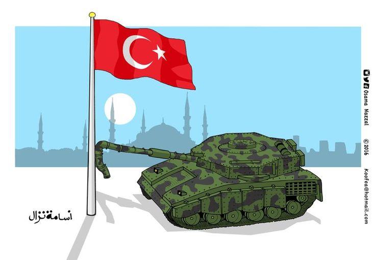 Osama Nazzal (2016-07-16) Turquie: Military Coup 2016. #turkeycoup #Turkey #Erdogan