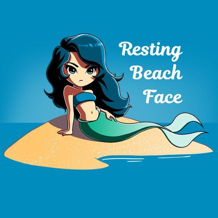 Resting Beach Face - T-Shirt / Mens / S