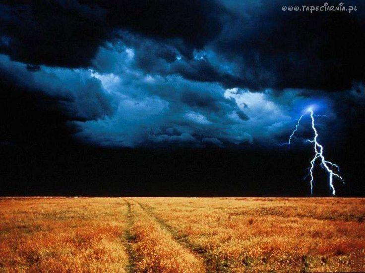 Burza, Niebo, łąka
