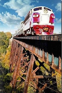 Branson, This is a nice train ride.