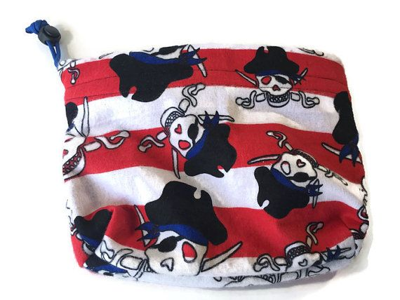 Pirate Bag, Drawstring Pet Bag, Pirate Skull Bag, Pirate Garb, Pirate Party Bag, Dog Treat Bag, Small Project Bag, Leash Bag, Loot Bags #CraftBags #PiratePartyBag #PirateBag #TrainingPouch #DogTreatBag #DogWalkBag #PirateGarb #PirateSkullBag #DrawstringPetBag #DogPouch