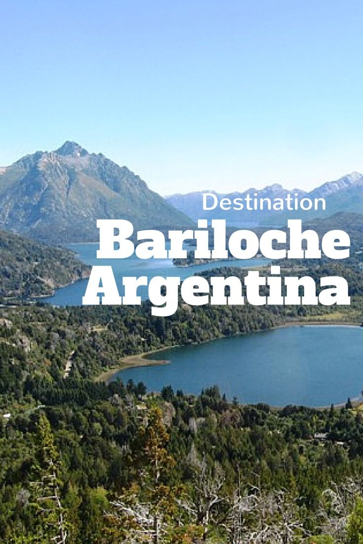 Destination: Bariloche, Argentina http://solotravelerblog.com/solo-travel-destination-bariloche-argentina/