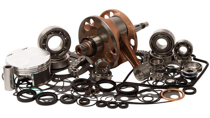 Wrench Rabbit WR101-031 Complete Engine Rebuild Kit for 2004-05 Honda TRX450R
