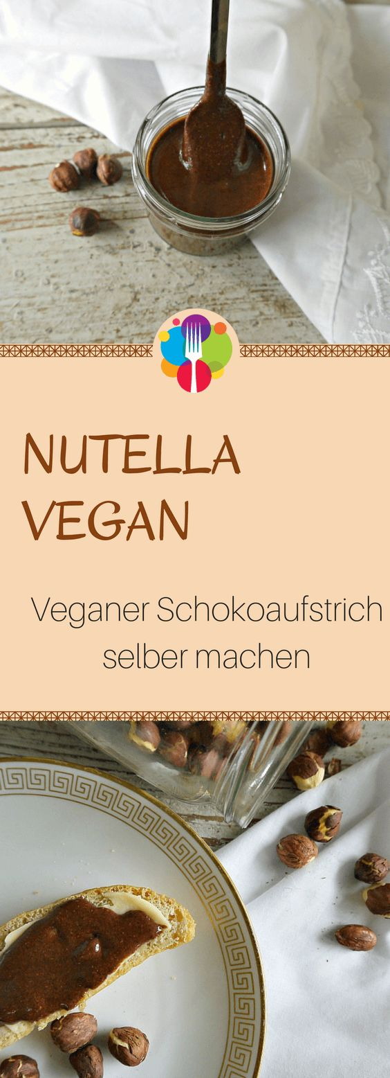 Nutella vegan - Veganer Schokoaufstrich selber machen I Vegalife Rocks: www.vegaliferocks.de✨ I Fleischlos glücklich, fit & Gesund✨ I Follow me for more inspiration 👉 @vegaliferocks