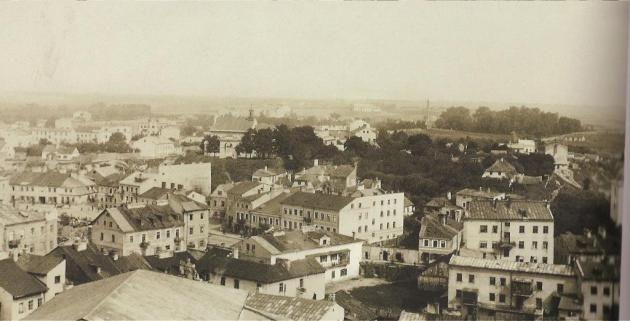 Zdjęcie: Podzamcze w Lublinie, okres I wojny światowej. (57310 ...