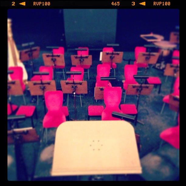 Fossa dell'orchestra del Teatro Regio