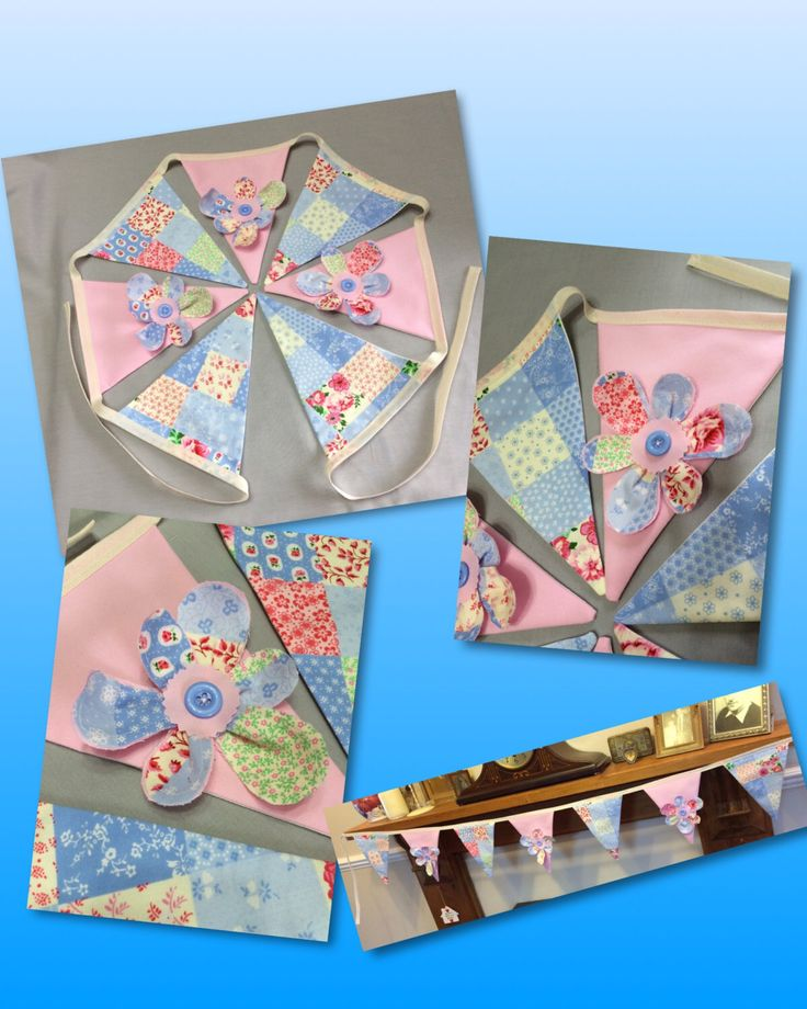 This pretty bunting will give a lovely finishing touch to any room https://www.etsy.com/uk/listing/464743971/pastel-shabby-chic-bunting-3d-floral