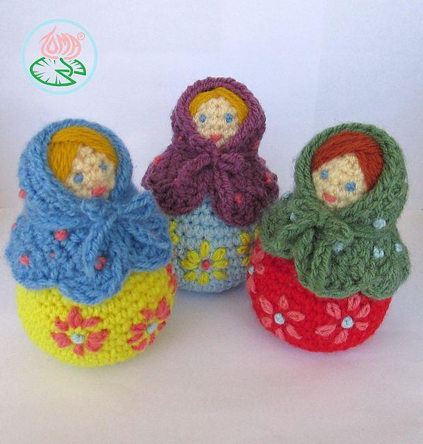 Amigurumi Russian Dolls : 17 Best images about Matryoshkas on Pinterest Fabrics ...