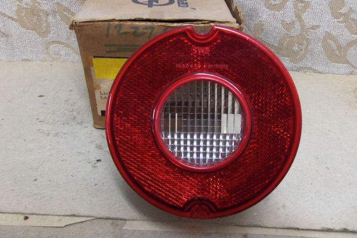 NOS GENUINE OPEL MANTA A GT ORIGINAL TAILLIGHT LENS # 17 20 437 /  21318R3 #