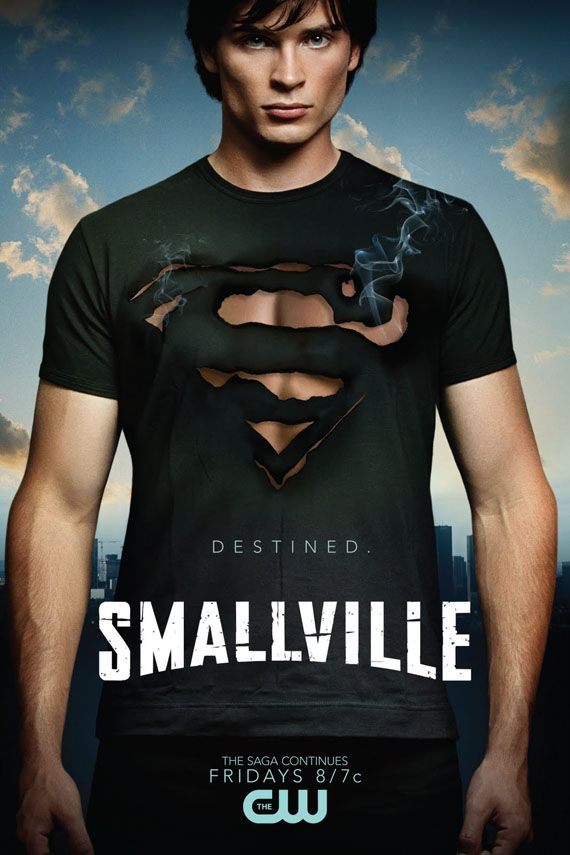 tom welling, Smallville grew up