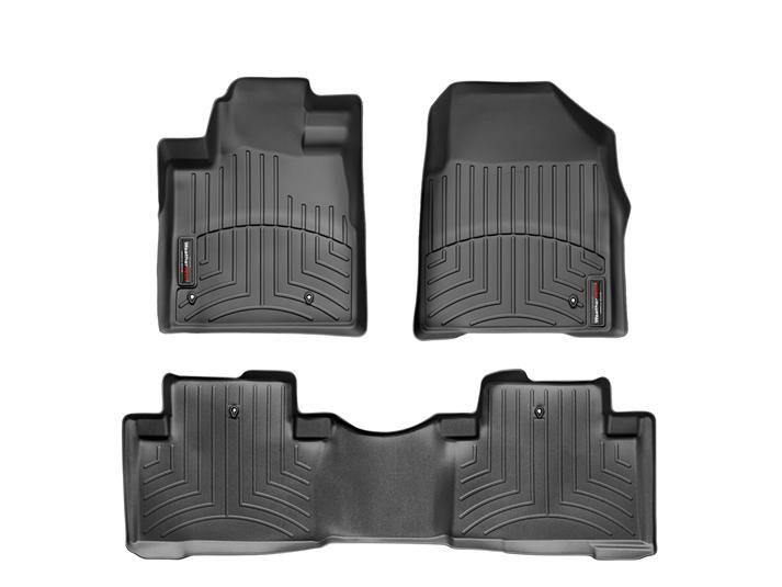 2011 Honda Pilot   WeatherTech FloorLiner custom fit car floor protection from mud, water, sand and salt.   WeatherTech.com