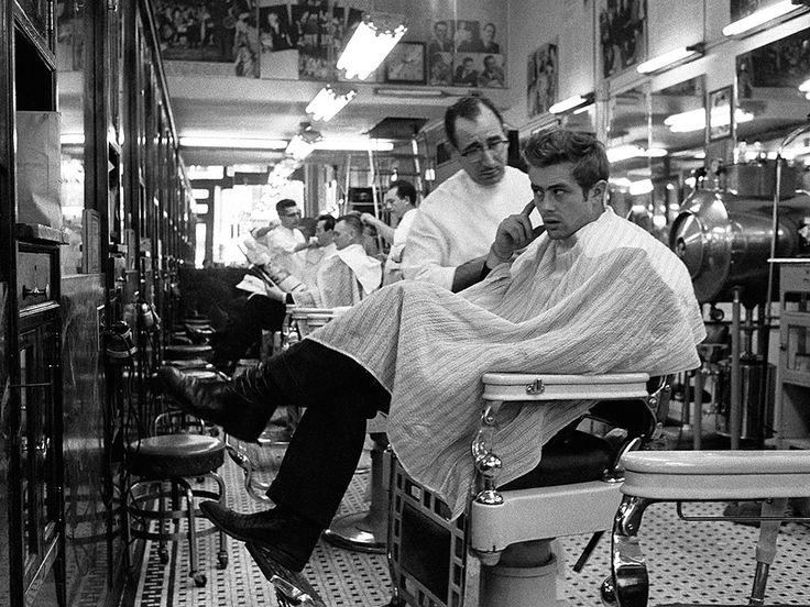 James Dean chez le coiffeur Dennis STOCK MAGNUM  by  Dennis  Stock  Save  this  one  is  little  bigger