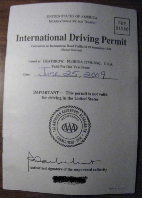 Get an International Driver's Permit. If you are going to be driving in many foreign countries, an IDP is required by law if you are a USA  licensed driver. They are very easy to get and although your rental agent may not ask to see yours… it is the law in many countries - ask your travel consultant... or just go get one from your local AAA office.