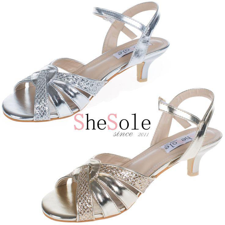 27 best Wedding Shoes images on Pinterest Low heels Bridal