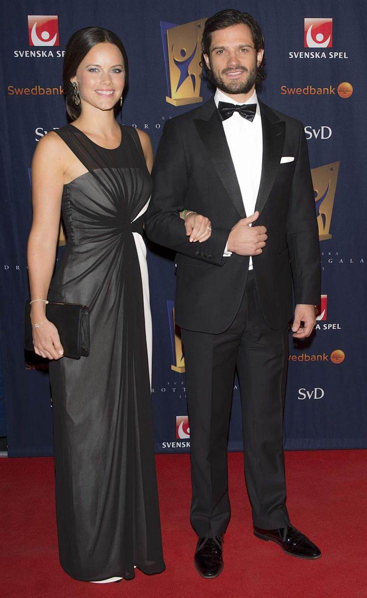 Sofia Hellqvist and Prince Carl Philip attend Sports Gala full