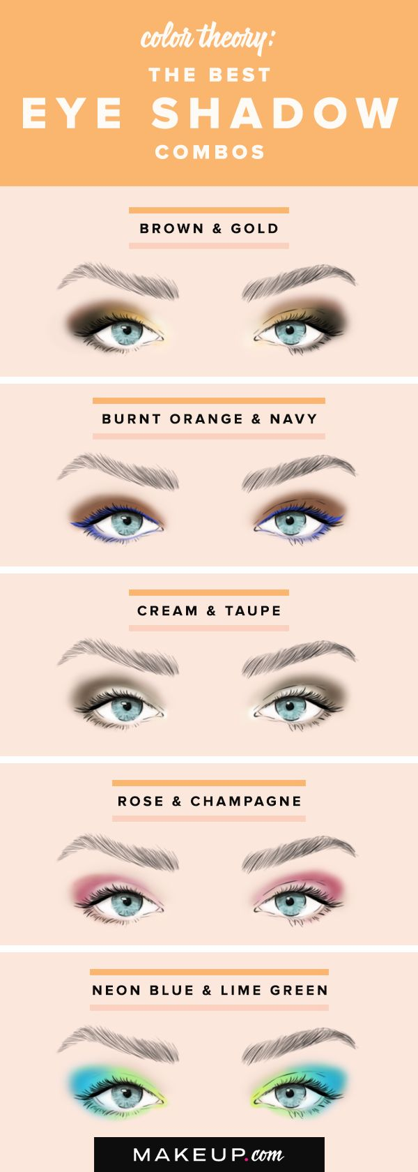 Color Theory: The Best Eye Shadow Combos