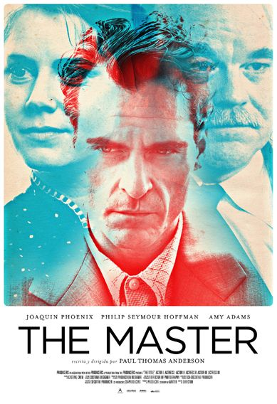 The Master - dir. by Paul Thomas Anderson (2012). Freddie Quell (Joaquin Phoenix) is a troubled, boozy drifter struggling with the trauma of World War II & whatever inner demons ruled his life before that. On a fateful night in 1950, Freddie boards a passing boat & meets Lancaster Dodd (Philip Seymour Hoffman), the charismatic leader of a religious movement called the Cause. Freddie tries hard to adhere to Dodd's weird teachings & forms a close bond with his mentor, even as other members of…