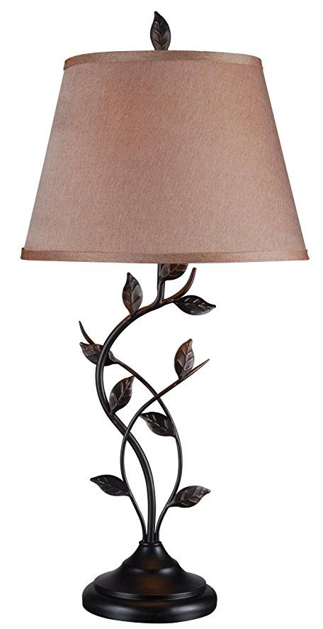 Kenroy home 32239orb ashlen table lamp oil rubbed bronze finish
