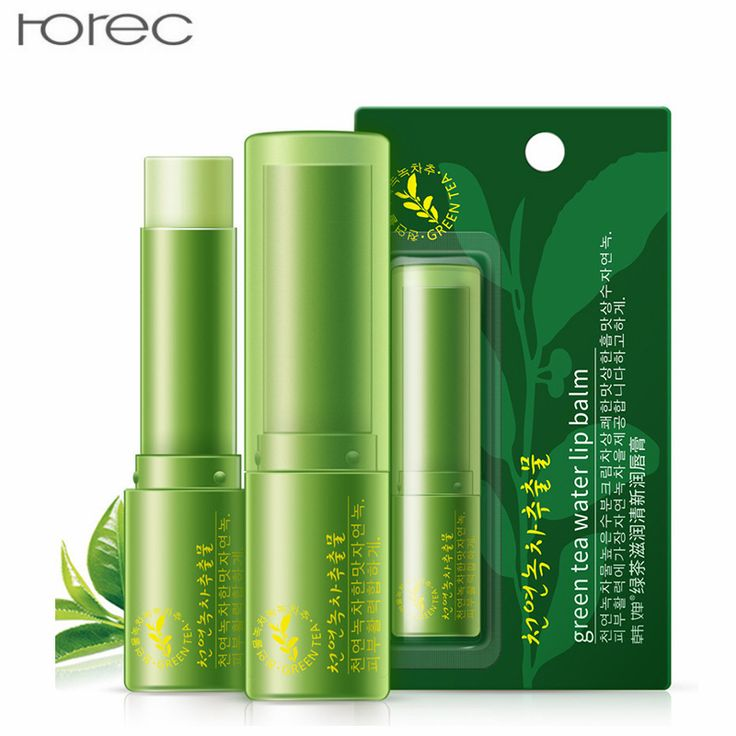 Korea Green Tea Moist Fresh Lip Balm Protector Moisturizing Replenishment Bight Lip Color Organic Natural Lipbalm For All Skin
