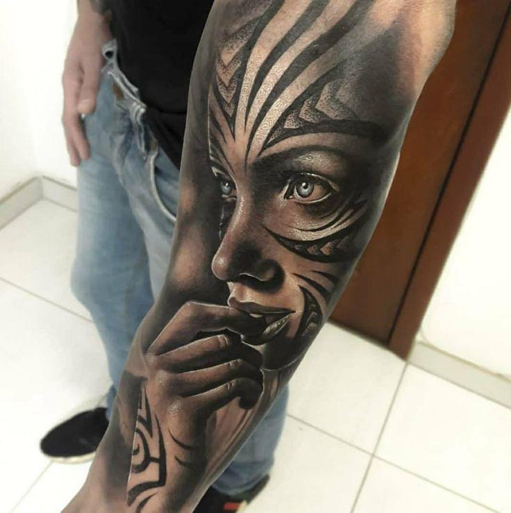 Left Arm Tattoo Sleeve by Samuraii Maciel